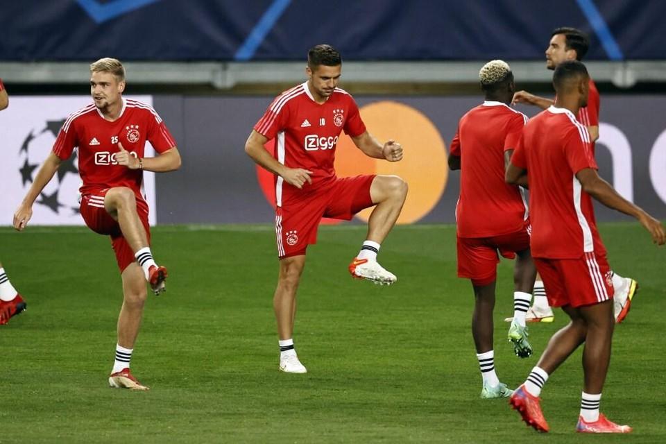 Ajax traint in Portugal.