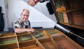 De pianostemmer van 't Mosterdzaadje is een onmisbare stille kracht: 'De vleugel heeft nog nooit zo mooi geklonken'