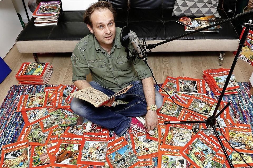 Hilversummer Koen Maas is al sinds zijn jeugd in de ban van Suske en Wiske. Hij is er nu een podcast over begonnen.