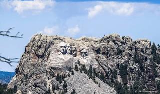 'Trump wil zijn afbeelding op Mount Rushmore'