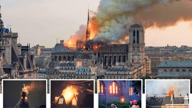 Kerkbrand is vaak niet te stoppen, blijkt ook in deze regio