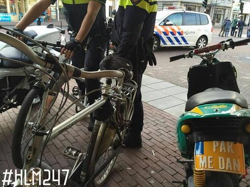Man rijdt onder invloed van harddrugs op scooter rond door Haarlem