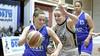 Harde les voor basketbalsters Triple Threat in eerste wedstrijd van de play-offs