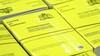 Hier stempelt GGD Kennemerland deze week het vaccinatiebewijs in het gele boekje