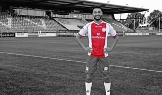 Ilias Boudouni is pas 22 jaar, maar heeft al een flink aantal clubs achter zijn naam staan. Hoornse voetballer hoopt nu op succesvolle periode bij IJsselmeervogels