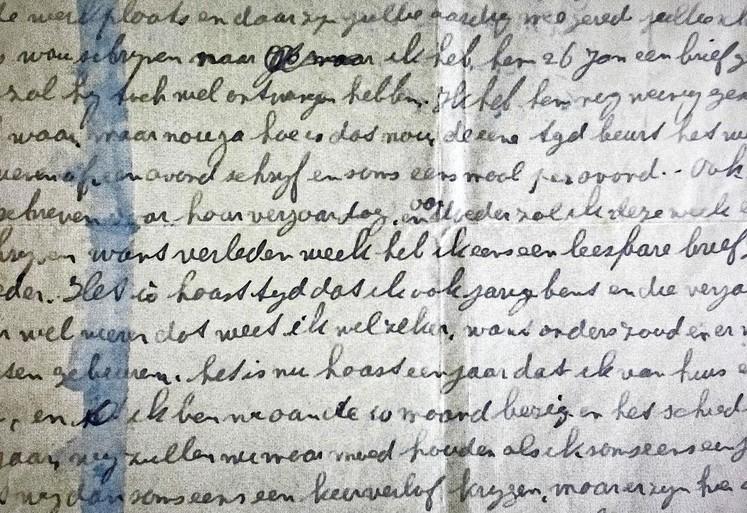 In de oorlog verdwenen oom komt tot leven in een zestigtal brieven: 'Ik sla mijn eigen er maar doorheen, want het moet toch'