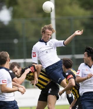 Koninklijke HFC vecht zich terug van 0-2 achterstand in oefenwedstrijd tegen Rijnsburgse Boys