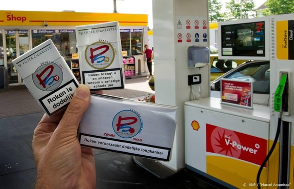 Coalitiepartijen: sigaretten weg uit tankstations en supermarkten