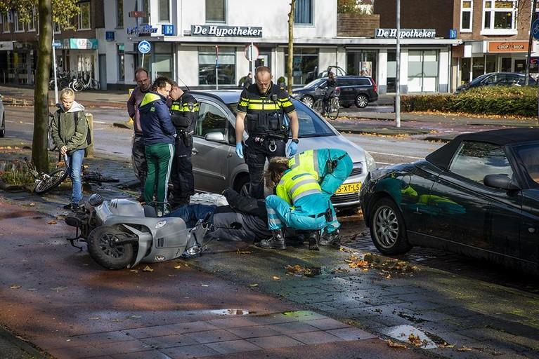 Twee ongelukken en twee gewonden in Haarlem-Noord