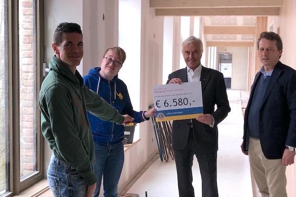 Vlnr: Floris van Heiden, Tim van Grieken, Gerrit Jan Visser, Peter van Heijst