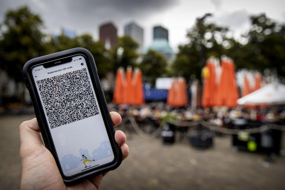 De coronacheck-app werkt in Parijs al prima.