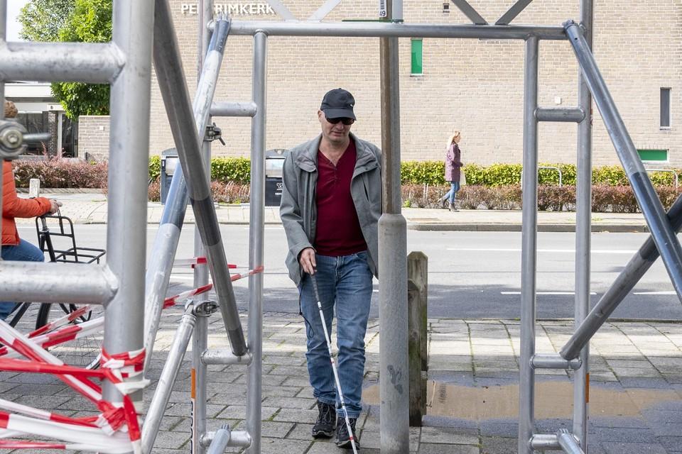 Haarlem - Peter Bakker en de toegankelijkheid van de stad