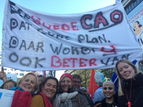 Actievoerders ziekenhuizen: en nu doorbijten, 'het duurt te lang!'