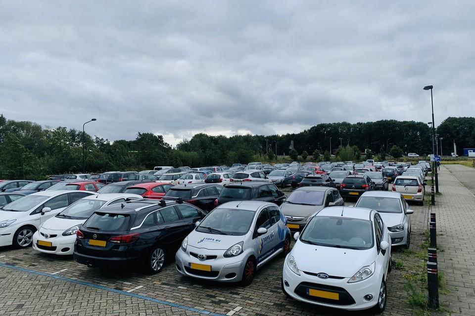 Parkeerplaats Wijckerpoort.