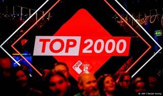 Top 2000 begint acht uur eerder dan normaal