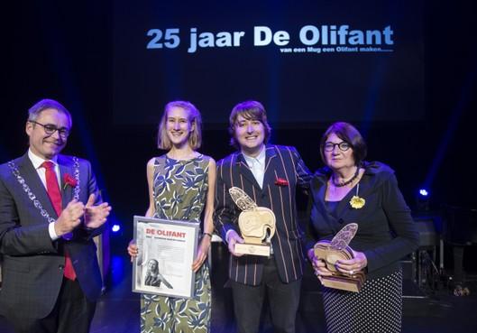 Doek valt voor kunst- en cultuurprijs De Olifant