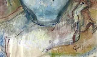 Schilderij met vervalste signatuur Godfried Bomans verwijderd van veilingsites. 'Dit is wel heel amateuristisch en kinderlijk gedaan'
