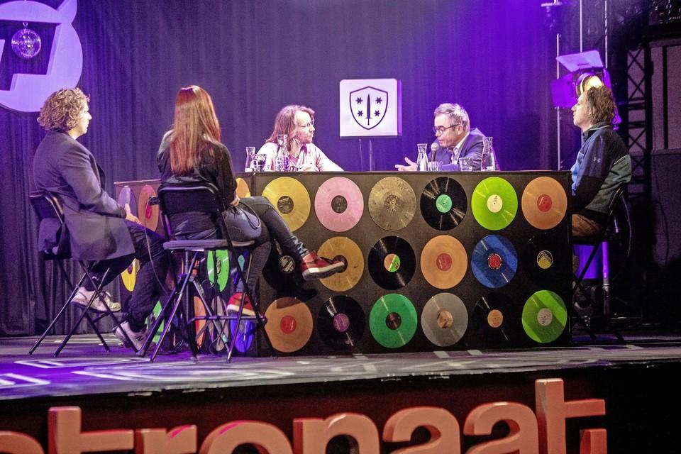 De Nachtwacht Talkshow in Patronaat.