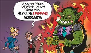 Haarlemse gamer Martijn Kusters fors de dupe van bankblokkade ING