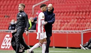 Ajax-trainer Ten Hag in voetsporen van Michels, zesde landstitel voor Daley Blind