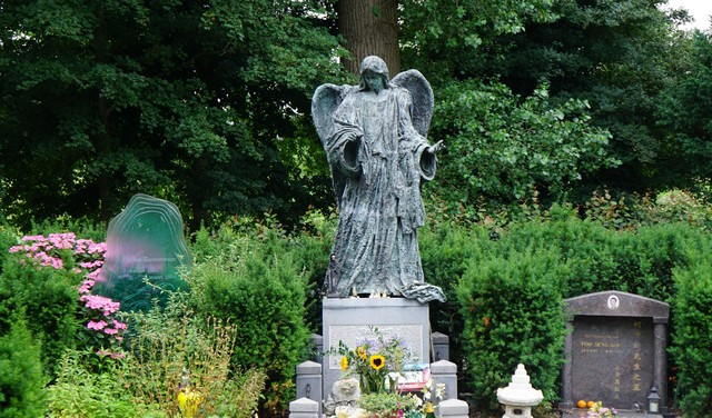 Wandelen over Zorgvlied: struin langs de graven van Annie M.G. Schmidt, Herman Brood en Ramses Shaffy [video]