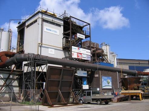 Experimentele ijzerfabriek van Tata Steel die CO2-uitstoot moet verminderen, mag niet zomaar in gebruik worden genomen vanwege stikstofuitstoot