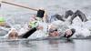 Van Rouwendaal wint zevende titel openwaterzwemmen: 'Helemaal kapot, maar heel blij'