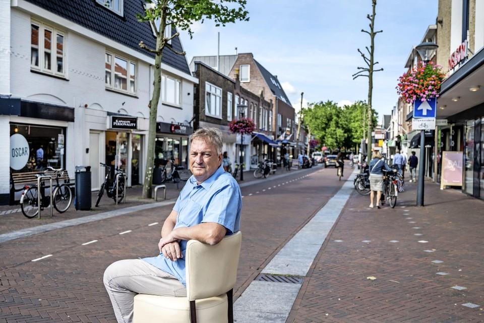 """Bas de Jong: """"Het is geen doorsnee winkelstraat zoals in zoveel andere Nederlandse steden waar ketens de overhand hebben.''"""