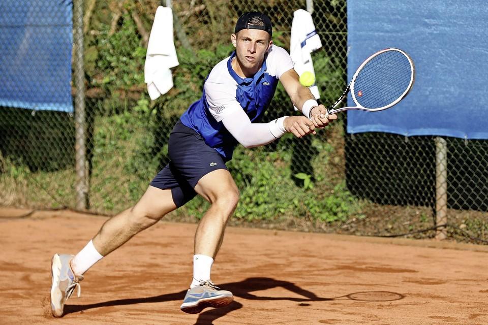 Tallon Griekspoor versloeg in de finale van het Dutch Open Botic van der Zandschulp.