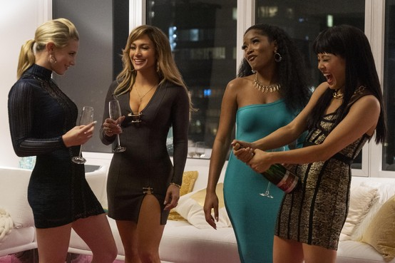 Filmrecensie:Verleidingsacrobatiek Jennifer Lopez redt 'Hustlers'