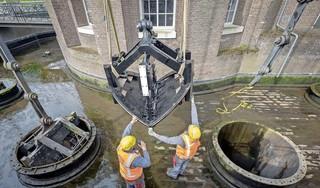 Takelen zuigers over gemaal Cruquius is de start van een groot onderwater-restauratieplan [video]