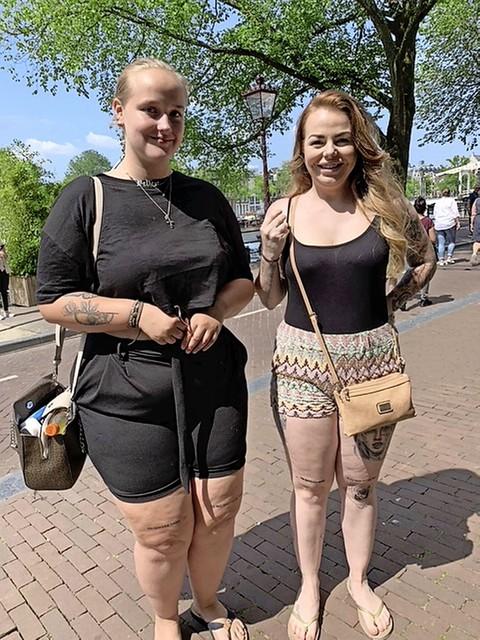 Rowena Schuyers en haar zusje Melissa