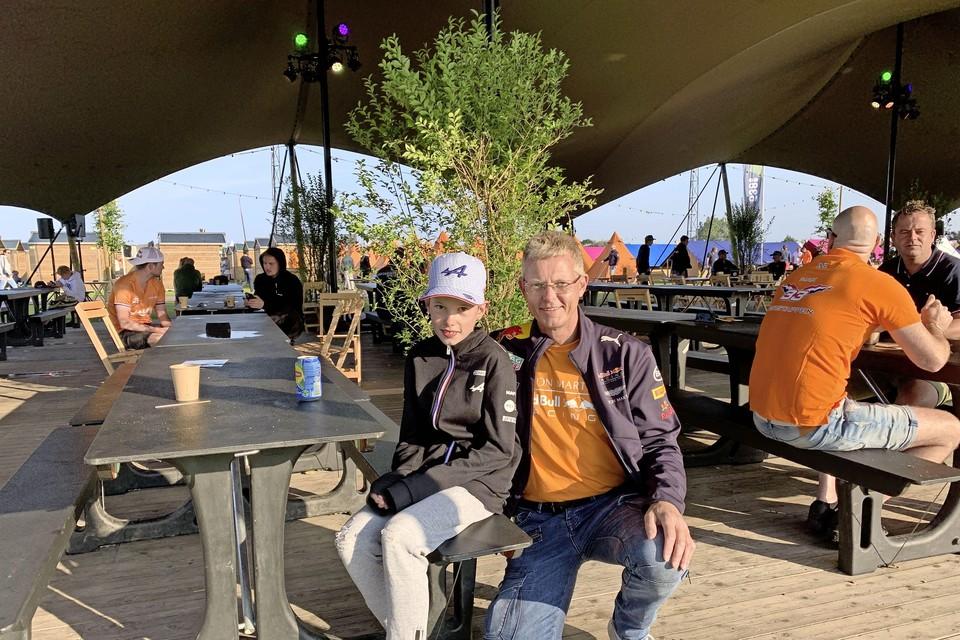 Nick (11) is groot fan van coureur Esteban Ocon.