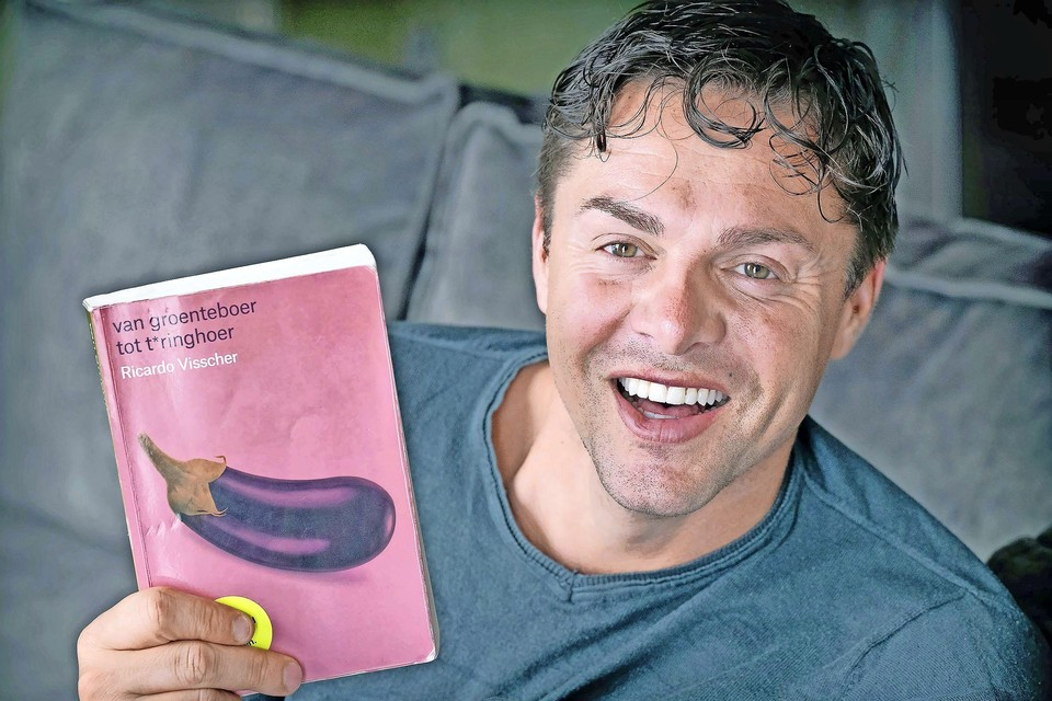 Ricardo Visscher. ,,In alles waarvan ik zei: Dat doe ik niet, werd ik de heftigste.''