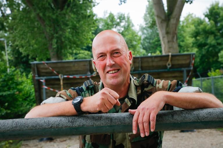 Pieter Visschers is de pater op het water, herder van de gespierde kudde