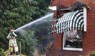 Bussumse villabrand heeft grote impact op de buurt: 'Het zal je huis maar zijn, je bent álles kwijt'