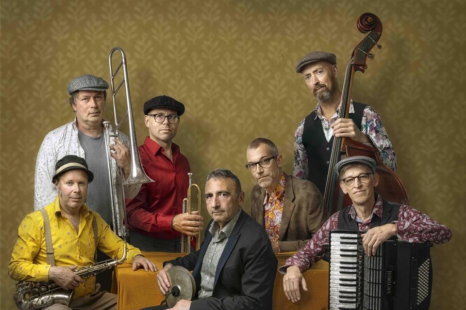 De Amsterdam Klezmer Band.