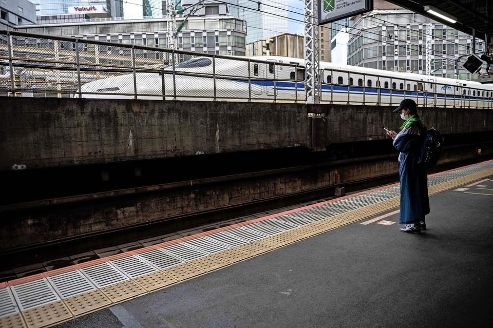 De 'kogeltrein' Shinkansen zal zich niet snel door miljoenpoten laten tegenhouden.