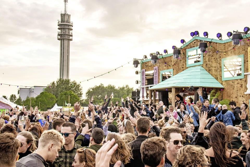Het Veerplas Festival in 2019.