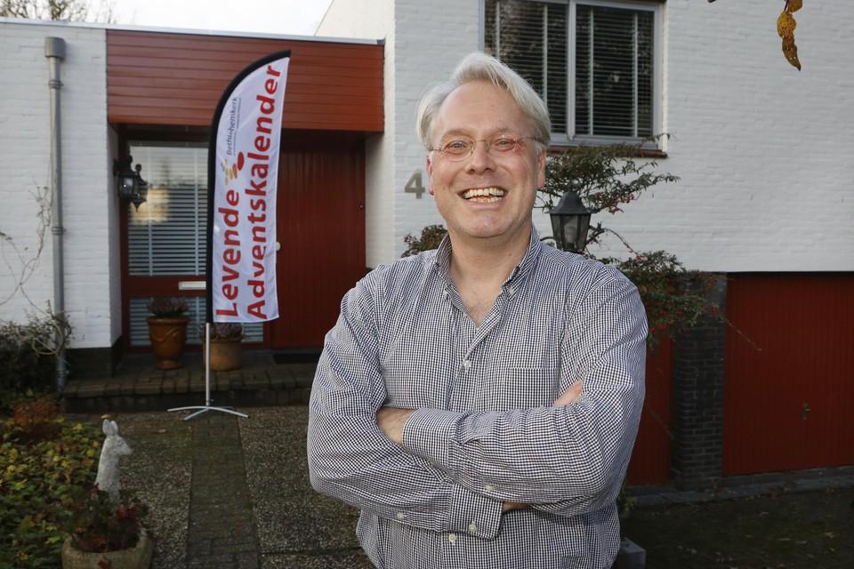 Piet Meindertsma doet zelf ook mee aan de Levende Adventskalender, op de laatste dag, maandag 23 december.