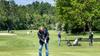 Drukte op Spaarnwoude; vele golfers slaan weer hun eerste balletjes. 'Duizend boekingen in een uur tijd' [video]