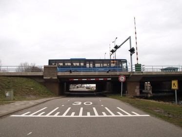 Afsluitingen op Haarlemmermeerse Ringdijk om autoverkeer te weren