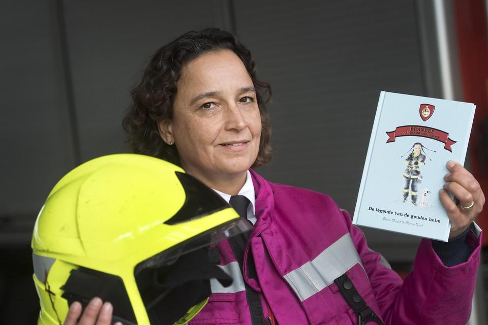 Brandweercommandant Sharon Wünsch.