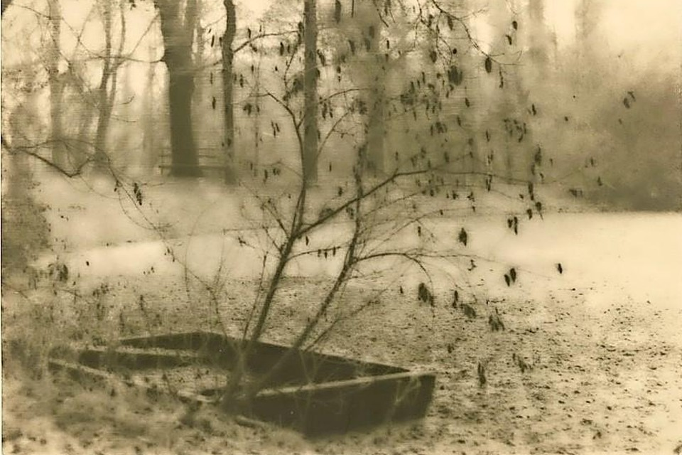 Adriaan Boer, 'In Bispincks tuin', tussen 1915 en 1925.
