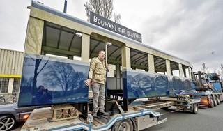 Haarlem heeft zijn iconische Blauwe Tram terug; droom Wim Beukenkamp wordt werkelijkheid; 'Dit is een geweldig moment'