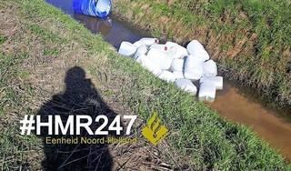 Zwanenburg wederom vuilnisbelt voor drugscriminelen