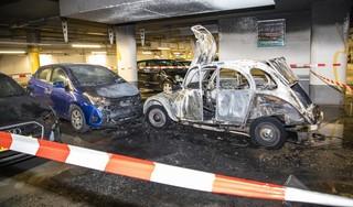 Gemeente Haarlem claimt ruim 200.000 euro schade bij twee daklozen vanwege autobrand in parkeergarage Raaks