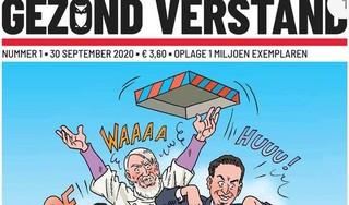 Bekende striptekenaar Eric Heuvel staat pal achter 'complotblad' Gezond Verstand: 'Coronahysterie is angstporno'