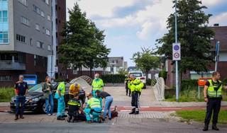 Man op elektrische step aangereden op de Waddenweg in Hoofddorp