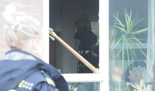 Keuken uitgebrand in IJmuiden. Huisdieren op tijd gered
